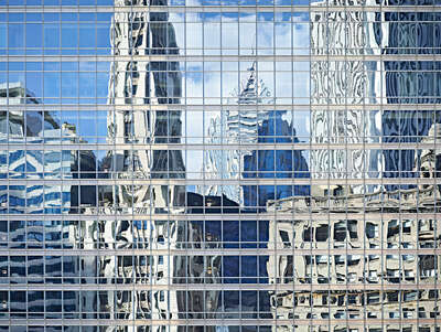 Urban Landscape Prints: City Landscape, Chicago, IL by Andrea B. Stone