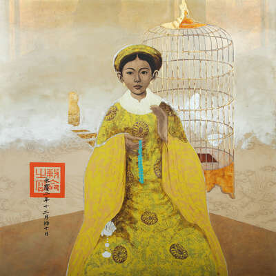Royal Lady II by Bui Huu Hung