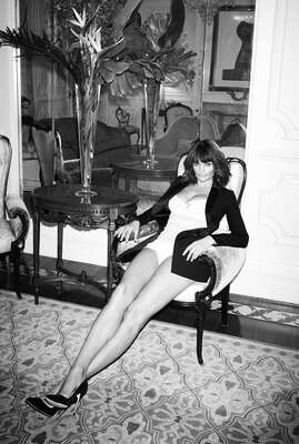 Celebrity Art:  Helena Christensen by Andrew Woffinden