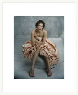 LUMAS fine art prints: Milla Jovovich, Étude Mars 2005 Paris by Bettina Rheims