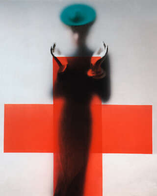 Cross by Erwin Blumenfeld