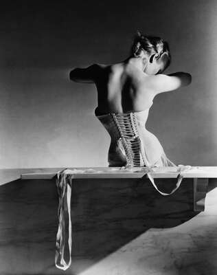 The Mainbocher Corset by Horst P. Horst