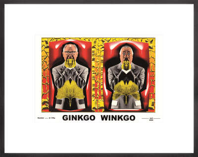 LUMAS fine art prints: Ginkgo Winkgo by Gilbert & George