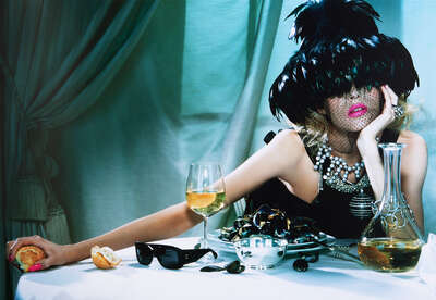Fashion Wall Art:  The Pure Wonder #2 by Miles Aldridge
