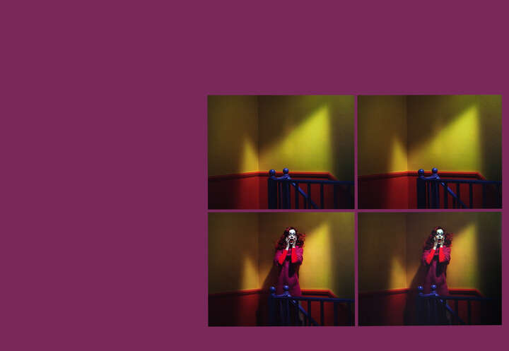 Chromo Thriller #1 - Quadtych de Miles Aldridge