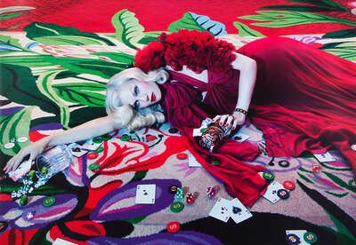 Fashion Wall Art:  The Rooms #2 by Miles Aldridge