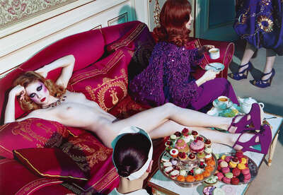 A Dazzling Beauty #4 by Miles Aldridge
