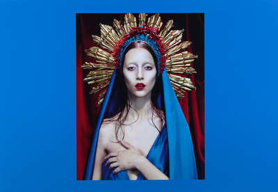 Fashion Wall Art:  Immaculée #3 by Miles Aldridge