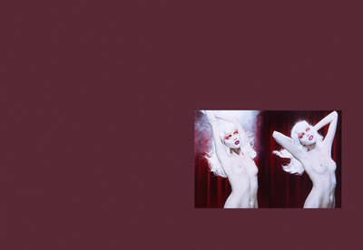 nude art photos  Cabaret #3, 7 - Diptych by Miles Aldridge
