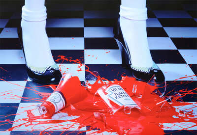 A Drop of Red #2 de Miles Aldridge