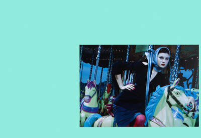 Fashion Wall Art:  La Manège Enchanté #1 by Miles Aldridge