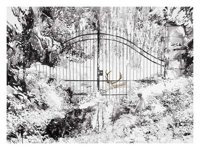 Winterbilder: Beyond the Gate von Malgosia Jankowska