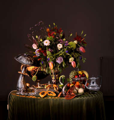 Flower Art Prints: Still Life by Mark Seelen: Flower still life by Mark Seelen