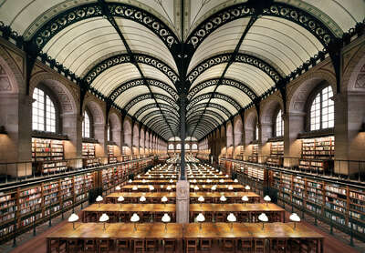 Exclusive gifts: Bibliothèque Sainte-Geneviève, Paris by Rafael Neff
