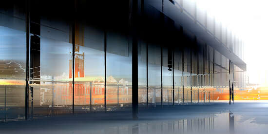 Neue Nationalgalerie III by Sabine Wild