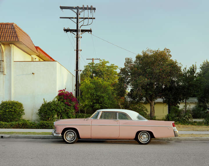 Pink Chrysler by Tim Bradley