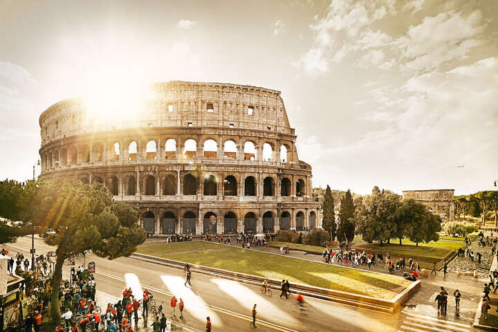 Colosseum by Tom Nagy