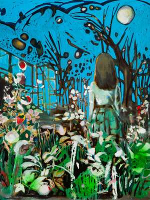 Painting Prints: Paradise garden 2 by Andrea Damp