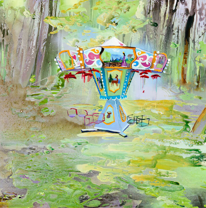 Paradise garden 9 by Andrea Damp