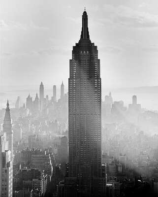 Empire State Building by Andreas Feininger