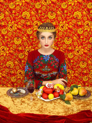 Art Prints: Fashion Photography Princess by Andrey Yakovlev & Lili Aleeva