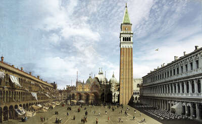 architecture photography:  Piazza San Marco by Andrés Leroi