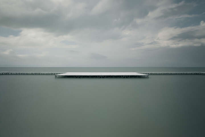 White Pier #2 von Akos Major