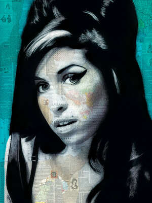 Celebrity Art:  Amy by André Monet