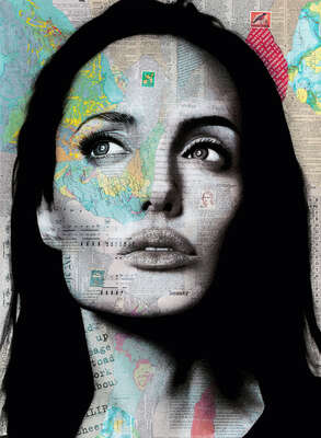 figurative art:  Angelina by André Monet
