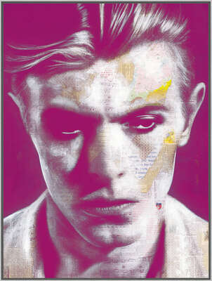 David Bowie Art: David by André Monet