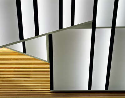 Curated Lumas Architecture Prints: Staircase light by Adam Mørk