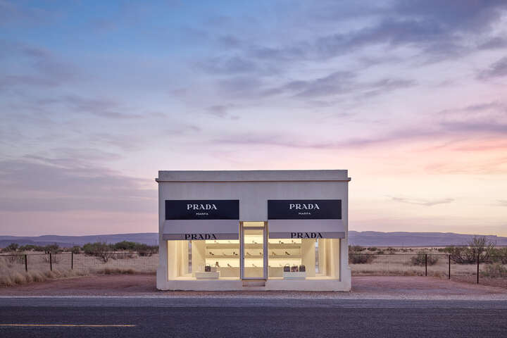 Prada Marfa 8:48PM by Adam Mørk