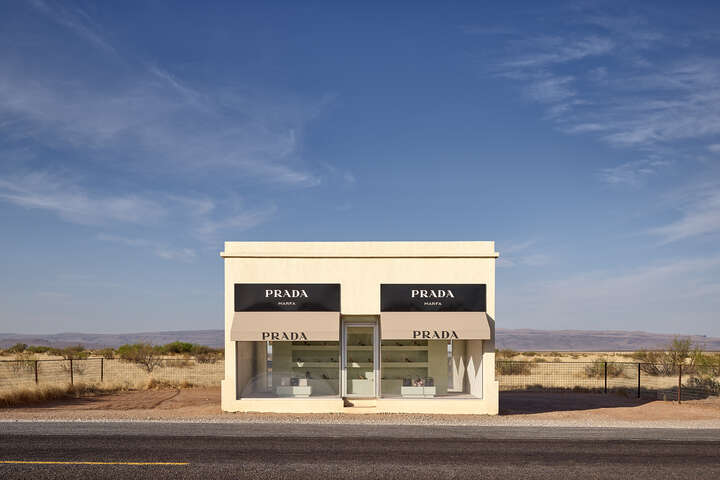 Prada Marfa 8:55AM by Adam Mørk