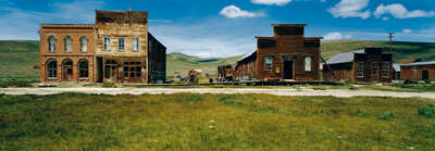 panoramic art for guest room: Ghost town Bodie, Sierra Nevada, California, USA by Axel M. Mosler
