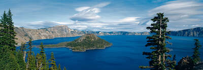 Landscape Wall Art: Crater Lake National Park, Oregon, USA by Axel M. Mosler