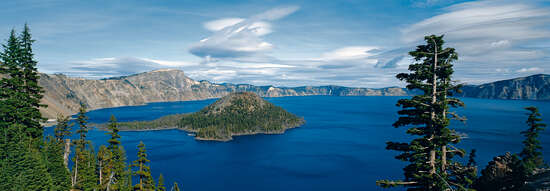 Crater Lake National Park, Oregon, USA von Axel M. Mosler