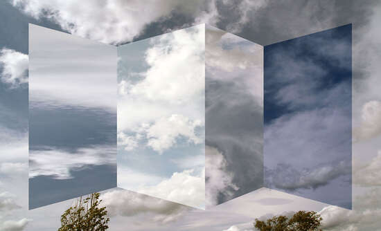 Polyptych of clouds