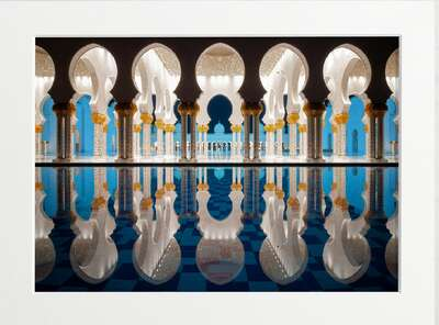 Majestic Marble Mosque von Art Now Collection