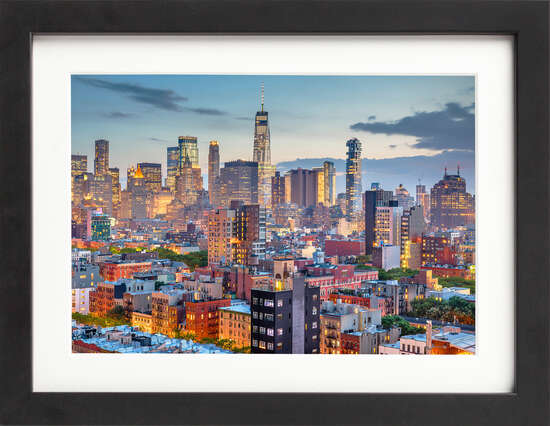 Downtown NYC at Dawn de Art Now Collection