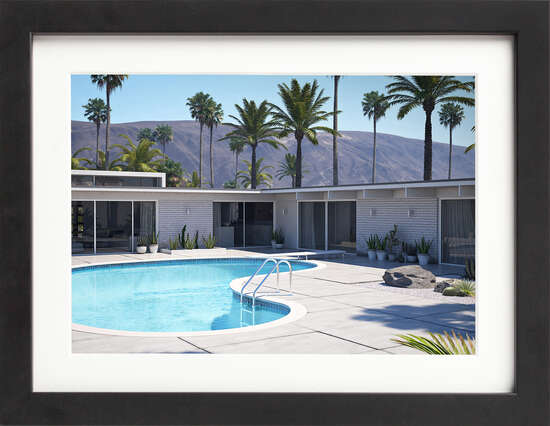 Palm Springs Pool by Art Now Collection
