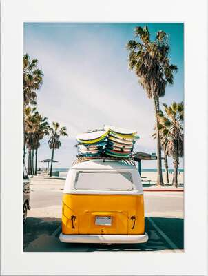 Surf Van, Venice Beach by Art Now Collection