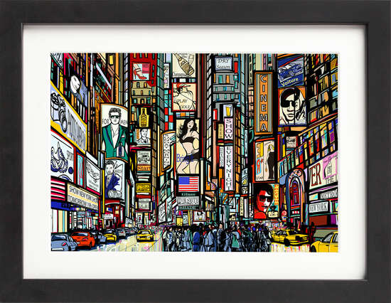 New York Buzz by Art Now Collection