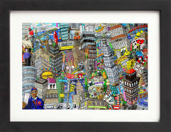 Compact City by Art Now Collection