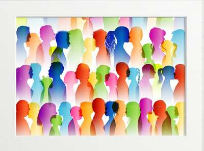 figurative art:  Social Network by Art Now Collection