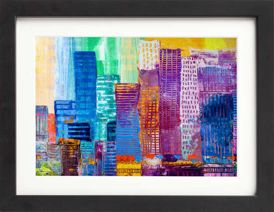 Urban Skyscrapers by Art Now Collection