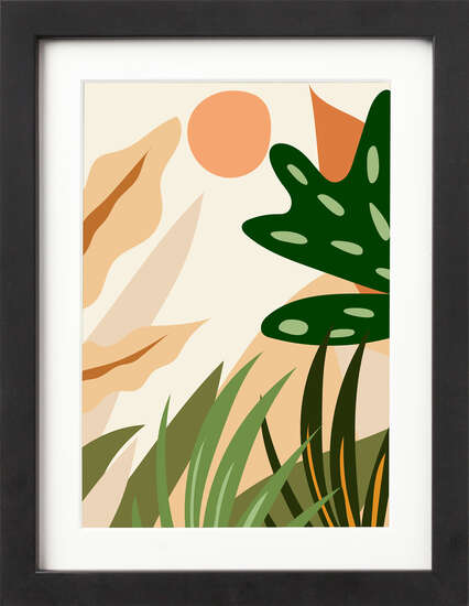 Boho Botanicals I by Art Now Collection
