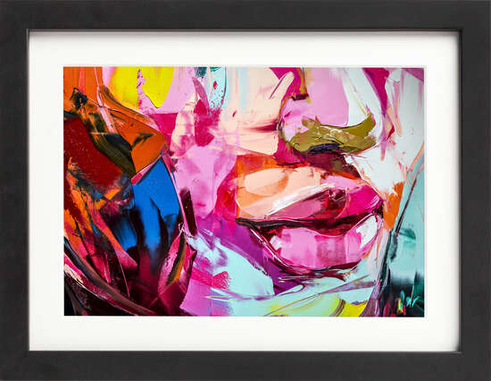 Painterly Pout by Art Now Collection