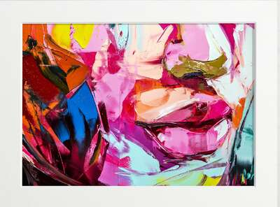 Portrait Painting  Painterly Pout by Art Now Collection