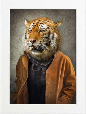 Well Dressed Tiger by Art Now Collection