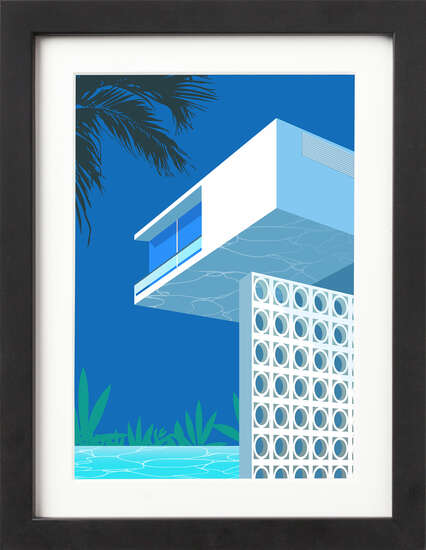 Block House Pool by Art Now Collection